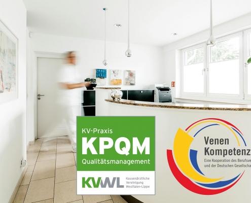 KPQM Zertifizierung Venenpraxis Münster